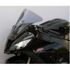 """Ветровое стекло для мотоцикла Racing """"R"""" ZX-10R (ZXT00J) 11-, цвет Серый"""