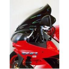 """Ветровое стекло для мотоцикла Spoiler """"S"""" ZX-9R (ZX900E) 00-03, цвет Серый"""