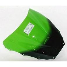 """Ветровое стекло для мотоцикла Racing """"R"""" ZX-9R (ZX900C ZX900D) 98-99, цвет Серый"""