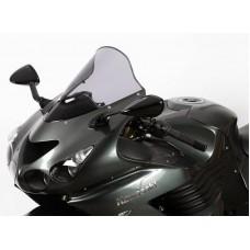 """Ветровое стекло для мотоцикла Racing """"R"""" ZZ-R1400 (ZXT40A/ZXT40E/ZX14) 06-, цвет Красный"""