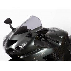 """Ветровое стекло для мотоцикла Spoiler """"S"""" ZZ-R1400 (ZXT40A/ZXT40E/ZX14) 06-, цвет Серый"""