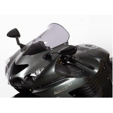 """Ветровое стекло для мотоцикла Touring """"T"""" ZZ-R1400 (ZXT40A/ZXT40E/ZX14) 06-, цвет Серый"""