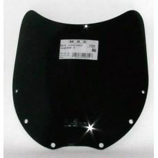 """Ветровое стекло для мотоцикла Spoiler """"S"""" ZZ-R600 (ZX600D)90-92, ZZ-R400 90-92, цвет Серый"""