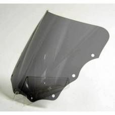 "Ветровое стекло для мотоцикла Racing ""R"" ZZ-R600 (ZX600E) 93-03, ZZ-R400 93-03, цвет Серый"